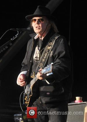 Neil Young - Neil Young and Crazy Horse perform live at RDS Arena - Dublin, Ireland - Sunday 16th June...