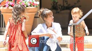 Jessica Alba, Haven Warren and Honor Warren