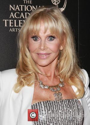 Britt Ekland - The 40th Annual Daytime Emmy Awards held at The Beverly Hilton Hotel - Arrivals - Beverly Hills,...