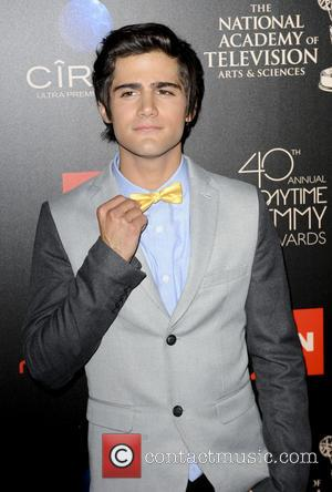 Max Ehrich - The 40th Annual Daytime Emmy Awards held at The Beverly Hilton Hotel - Arrivals - Los Angeles,...