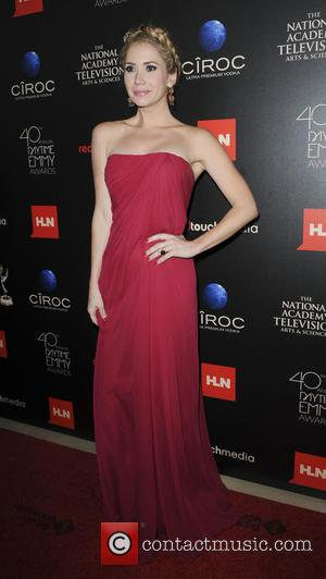 Ashley Jones - The 40th Annual Daytime Emmy Awards held at The Beverly Hilton Hotel - Arrivals - Los Angeles,...