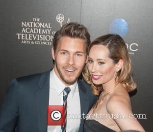 Scott Clifton and Nicole Clifton - The 40th Annual Daytime Emmy Awards held at The Beverly Hilton Hotel - Arrivals...