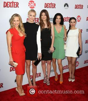 Julie Benz, Yvonne Strahovski, Jennifer Carpenter, Jaime Murray and Aimee Garcia
