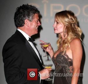 Taylor Armstrong and John Bluher - The 40th Annual Daytime Emmy Awards sponsored by CIROC Vodka held at The Beverly...