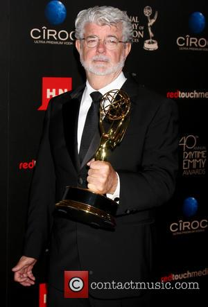 George Lucas - The 40th Annual Daytime Emmy Awards held at The Beverly Hilton Hotel - Press Room - Los...