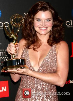 Heather Tom - The 40th Annual Daytime Emmy Awards held at The Beverly Hilton Hotel - Press Room - Los...