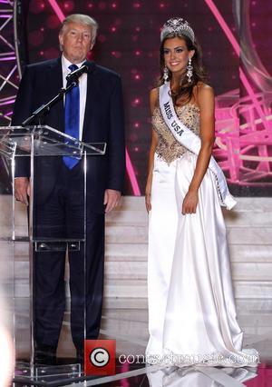 Erin Brady 2013 Miss Usa and Donald Trump