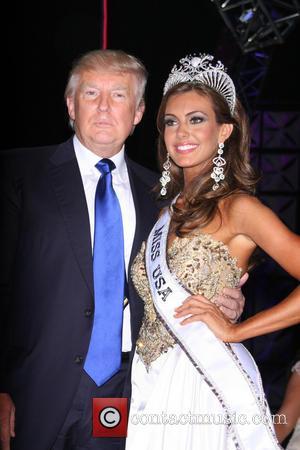 Miss Usa 2013 Erin Brady and Donald Trump