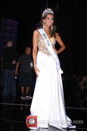 Erin Brady - Miss USA 2013 Post Press Conference held...