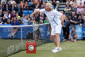 Sir Richard Branson - Rally Against Cancer charity match of the AEGON Championships at Queens Club - London, United Kingdom...