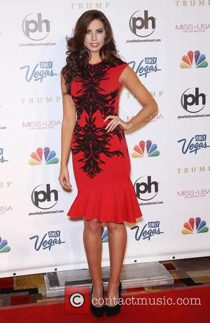 Katherine Webb - 2013 Miss USA Pageant held at Planet Hollywood Resort and Casino - Arrivals - Las Vegas, Nevada,...