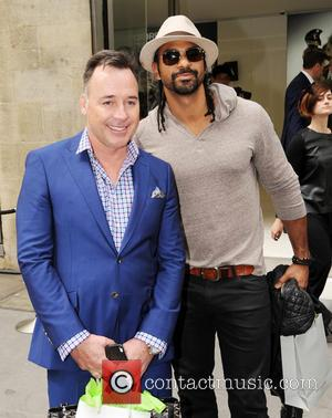 David Furnish and David Haye