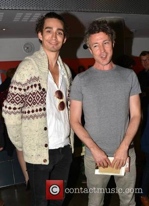 Robert Sheehan and Aidan Gillen