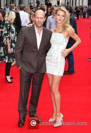 Rosie Huntington-Whiteley, Jason Statham, Odeon West End
