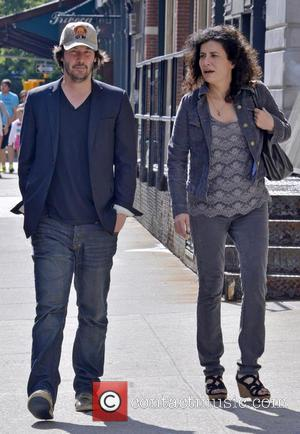 Keanu Reeves - Keanu Reeves seen out and about with a female companion in Manhattan - New York City, NY,...
