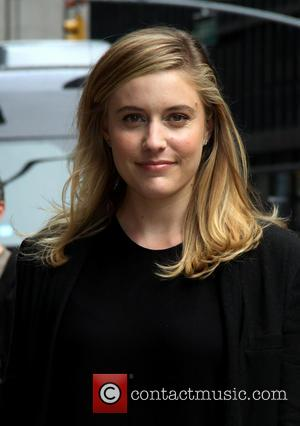 Greta Gerwig - Celebrities outside the Ed Sullivan Theater for 'The Late Show with David Letterman' - New York, NY,...