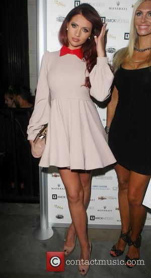Amy Childs - Celebrities arriving at Morton's Club in Mayfair - London, United Kingdom - Monday 17th June 2013