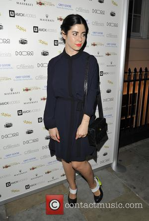 Marina Diamandis - DETAILS magazine cocktail party to celebrate London Collections: Men at Morton's Club - London, United Kingdom -...
