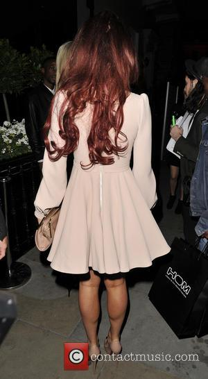 Amy Childs - Amy Childs arriving at AMCK models party at 2&8 club. - London, United Kingdom - Monday 17th...