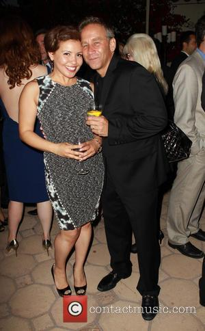 Justina Machado and Jay Cohen