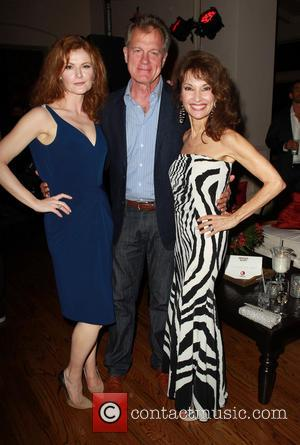 Rebecca Wisocky, Stephen Collins and Susan Lucci - Devious Maids Premiere Party held at the Bel-Air Bay Club - Inside...