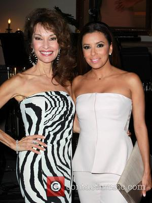 Susan Lucci and Eva Longoria - Devious Maids Premiere Party held at the Bel-Air Bay Club - Inside - Los...