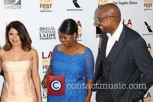 Melonie Diaz, Octavia Spencer and Forest Whitaker