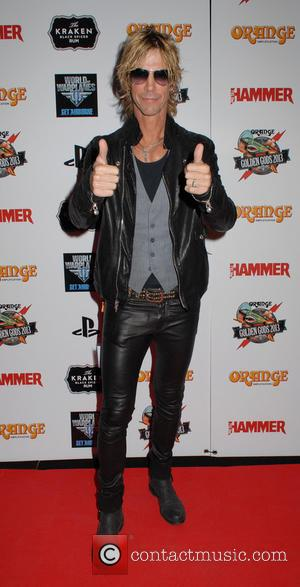 Duff McKagan - The Metal Hammer Golden Gods Awards at indigo2 at The O2 - Winners Board - London, United...
