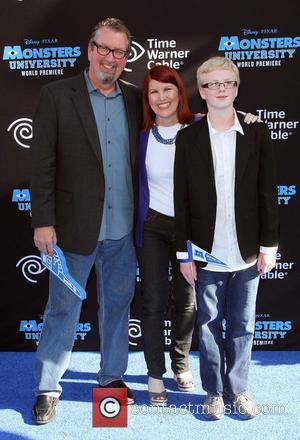 Kate Flannery and Chris Haston - The World Premiere & Tailgate Party for Disney-Pixar's
