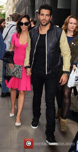 Jesse Metcalfe and Cara Santana - Oliver Spencer show during the London Collections: MEN SS14 at The Old Sorting Office...
