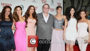 Judy Reyes, Ana Ortiz, Dania Ramirez, Marc Cherry, Roselyn Sanchez, Edy Ganem and Eva Longoria