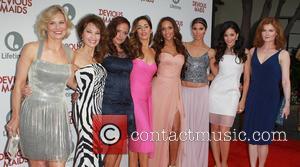 Melinda Page Hamilton, Susan Lucci, Judy Reyes, Ana Ortiz, Dania Ramirez, Roselyn Sanchez, Edy Ganem and Rebecca Wisocky