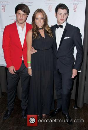 Gabrielle, Andrew Warren and Peter Brant Jr