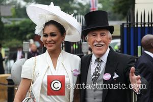 Sir Bruce Forsyth and Wilnelia Merced - Ladies Day at Royal Ascot at Ascot Racecourse - Surrey , United Kingdom...