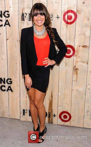 Lea Michele - Target FEED Collaboration launch at Brooklyn Bridge Park - Arrivals - Brooklyn, NY, United States - Wednesday...