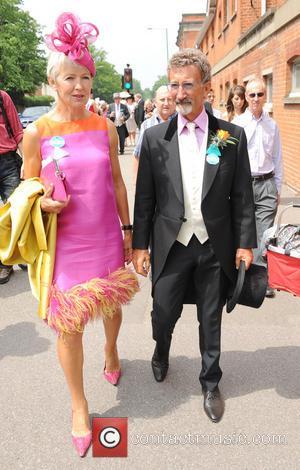 Eddie Jordan and Marie Jordan - Day two of Royal Ascot at Ascot Racecourse - Ascot, United Kingdom - Wednesday...