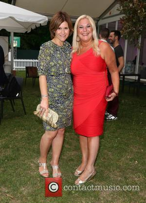 Harriet Scott and Vanessa Feltz