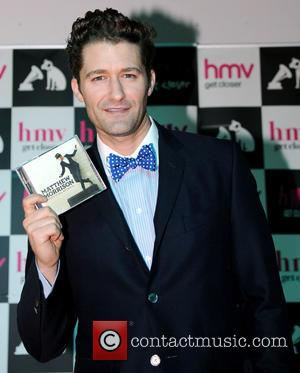 Glee star, Matthew Morrison signs copies of his new album 'Where It All Began' at HMV Manchester