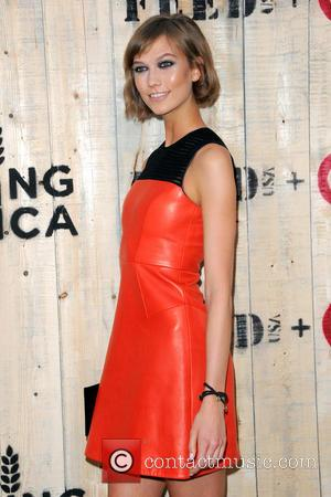 Karlie Kloss - FEED USA + Target launch event held at Brooklyn Bridge Park - New York City, NY, United...