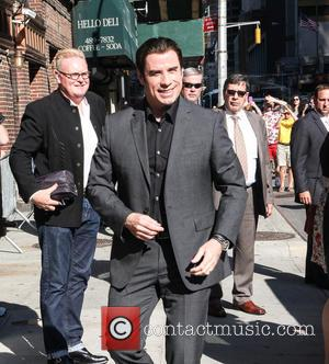 John Travolta - Celebrities outside the Ed Sullivan Theater for 'The Late Show with David Letterman' - New York City,...