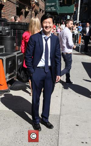 Ken Jeong - Celebrities outside the Ed Sullivan Theater for 'The Late Show with David Letterman' - New York City,...