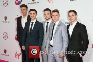 Collabro - The WTA Pre-Wimbledon Party 2014 presented by Dubai Duty Free held at The Roof Gardens, Kensington - Arrivals...