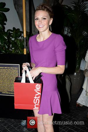Aimee Teegarden - Aimee Teegarden leaves a InStyle party held at the Chateau Marmont - Los Angeles, CA, United States...