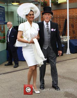 Sir Bruce Forsyth and Wilnelia Marced - Ladies Day at Royal Ascot at Ascot Racecourse - Ascot, United Kingdom -...