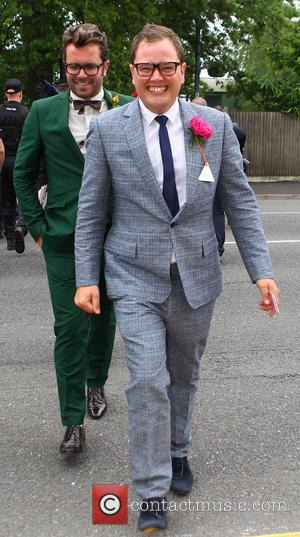 Alan Carr and Paul Drayton - Ladies Day at Royal Ascot at Ascot Racecourse - Celebrity Sightings - Ascot, United...