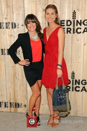 Lea Michele and Lauren Bush Lauren