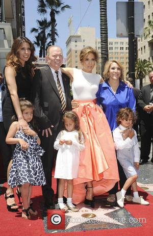 Jennifer Lopez, David Lopez, Guadalupe Lopez, Max, Emme Maribel and Lynda Lopez
