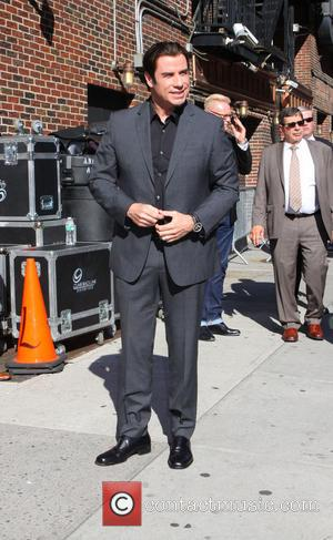 John Travolta, The Late Show With David Letterman, Ed Sullivan Theatre