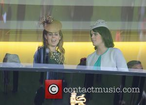 Princess Beatrice - Queen Elizabeth II celebrates winning the Gold...