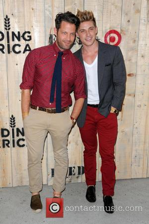 Nate Berkus and Jeremiah Brent - Target FEED Collaboration launch at Brooklyn Bridge Park - Arrivals - Queens, NY, New...
